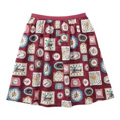 Clocks Jacquard Skirt | Trousers & Skirts | CathKidston