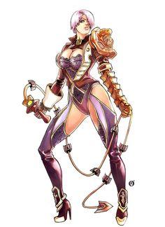 Ivy, Soul Calibur by Shonemitsu.