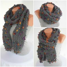 Knit Scarf Womens Accessories Winter Accessories by Scarf4you