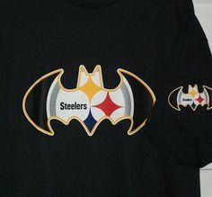 Pittsburgh Steelers / Batman Logo