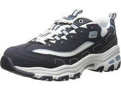39372ea6ac07ce SKECHERS D Lites - Biggest Fan Women s Shoes Navy
