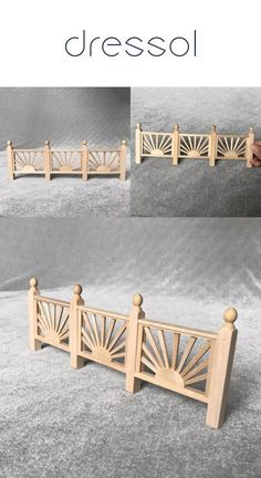 wooden balcony handrail furniture for 1 12 scale miniature doll house and Educational For House Online For 12 Online Furniture Online Doll House Online Doll Online House Online Wooden Dollhouse, Wooden Dolls, Wooden House, Miniature Furniture, Furniture Online, Miniature Dolls, Placemat, Clothes Hanger, Balcony