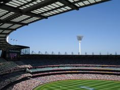 Melbourne Cricket Ground #MCG Melbourne Girl, Melbourne Travel, Melbourne Victoria, Victoria Australia, Mc G, Australian Painters, Continents, Cricket, Travel Guide