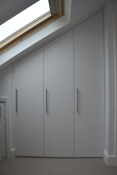 Bespoke fitted loft wardrobes in Fulham, South West London, SW6