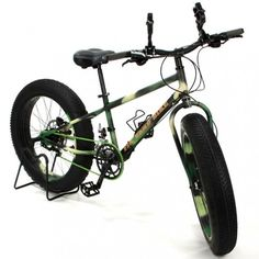 Fat Tire bikes for sand and snow!! GENIUS!