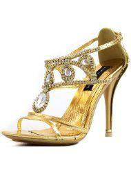 Celeste Womens Sasa-01 Rhinestone Evening Shoes