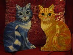Cat got the Blues and Van Gogh's cat