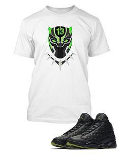 3e81db0255a1 T Shirt To Match Retro Air Jordan 13 High Altitude Shoe Custom Mens Tee  Design Sizing. Vegas Big and Tall