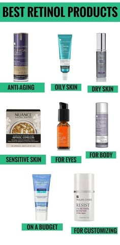 Retinol is one of the best anti-aging ingredients for all skin types (excluding sensitive). It boosts collagen production and accelerates cellular turnover, which help improve the texture of the skin and reduce wrinkles. But finding a good retinol treatment that doesn't break the bank can often seem impossibly difficult. Click through to find out what the best retinol products for every need and budget are #goodantiagingcream #goodantiagingproducts #antiagingtreatmentsproducts