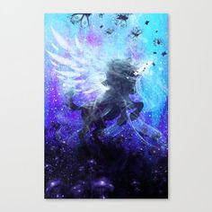 Unicorn Painting | Unicorn Canvas | Pegasus Painting | Horse Canvas | Horse Painting | Surreal Space Art | Hippie Painting | Fantast Art  untitled Unicorn by Frank Donato Can I ride you?