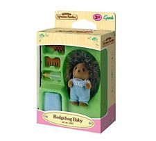 NEW Epoch 3401 Sylvanian families - Hedgehog baby