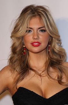 Kate Upton caramel hair ♥ LOVE this color.