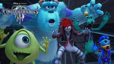 Square Enix Reveal The latest Trailer For KINGDOM HEARTS III, Monster Inc. , Toy Story, Big Hero 6 and More!
