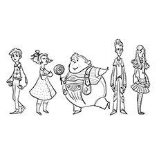 Veruca Salt Colouring Page. Roald Dahl coloring pages