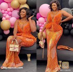 Aso Ebi Lace Styles, African Lace Styles, Lace Dress Styles, African Lace Dresses, Latest African Fashion Dresses, African Dresses For Women, African Attire, Ankara Styles, Latest Fashion