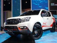 Isuzu MU-X SUV premium in Indonesia.