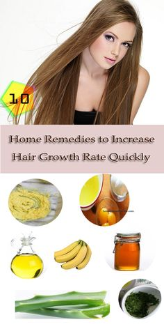 Frustrated with your #hairloss? Many factors can affect hair growth. How to grow hair faster naturally? Try these 10 best natural home #remedies for hair growth in less time.
