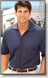 Navy tan through shirts