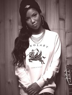 By far the dopest, realest, and most beautiful singer out there to me! Her songs are Inspiring and I can def relate to most of her songs. Love this girl Jhene Aiko