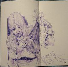 ArtStation - Daily Sketches Week 39, Even Amundsen