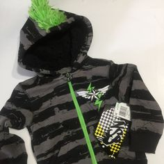 Spiderman Zip Up Costume Hoodie 6-7 8 10-12 14-16 New Child Jacket S M L XL