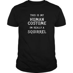 Squirrel Halloween Costume Shirt Easy Funny for Kids Adults - This is an amazing thing for you. Select the product you want from the menu.Tees and Hoodies are available in several colors. You know this shirt says it all. Pick one up today!  #Squirrel #Squirrelshirts #iloveSquirrel # tshirts