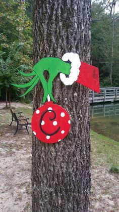 Grinch decoration!