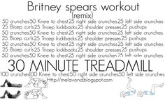 the britney spears workout #fitness