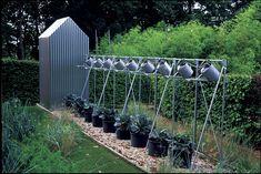 DIY Kitchen Garden Containers