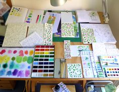 Karen Smith - what's on my drawing board this week? October 14 2017