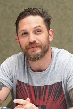 """Tom Hardy promoting """"Legend"""" at TIFF, Sept 13th 2015"""