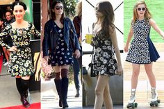The Cute, New Print Celebs Are Loving—and How To Get The Look!  Read more: Celebrities Wearing Daisy Print Dresses - Black And White Daisy Dresses - Seventeen  Follow us: @david on Twitter | seventeenmagazine on Facebook  Visit us at Seventeen.com