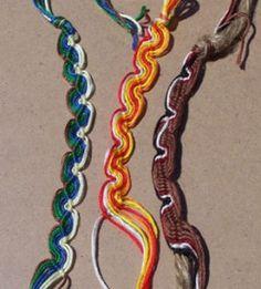 How to make a Peruvian Wave Friendship Bracelet