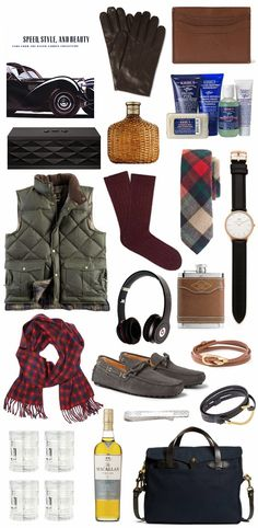 The Ultimate Gift Guide For Him. #giftguide #fortheboys