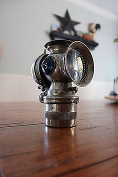 The ornate brass SEARCH LIGHT Bicycle Lamp manufactured by The ...