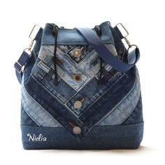 Nielia - сумки из джинсов (часть2) / Сумки, клатчи, чемоданы / ВТОРАЯ УЛИЦА
