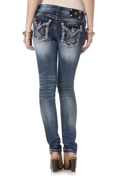 e654f8cbc6 46 Best all blinged out jeans images | Jeans pants, Bling jeans ...