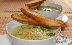 Zeleninová krémová polévka s topinkami. Autor: Romča