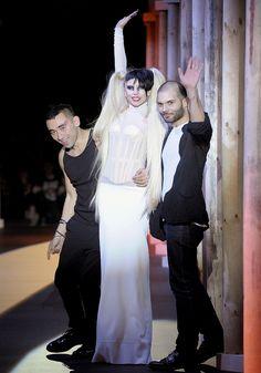 Nicolas Formichetti, Lady Gaga & Sebastien Peigne, Thierry Mugler, Fall / Winter 2011 2012