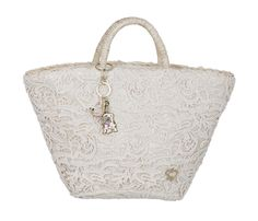 Pizzo super chic #maisonespin #springsummercollection13 #womancollection  #lovely #MadewithLove #romanticstyle #bag