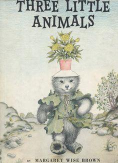 Garth WIlliams and Margaret Wise Brown's Heartbreaking Forgotten Masterpiece: Three Little Animals (First Edition, 1956) | Sweet Juniper's Vintage Kids Books