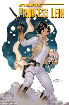 Princess Leia 1, cómic de Marvel para el 2015.