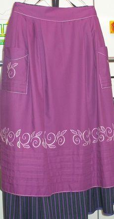 delantal y falda baturra Shirt Dress, Blouse, Apron, Ballet Skirt, Skirts, Regional, Dresses, Fashion, Folklore