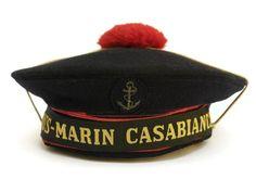 French Submarine Casabianca Sailors Beret. WW2 by LeBonheurDuJour