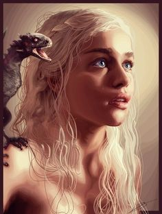 Daenerys Targaryen, Game of Thrones.