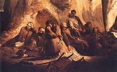 #Malczewski na dziś. Niedziela w kopalni, 1882. Muzeum Narodowe w Warszawie.
