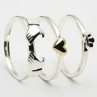 Claddagh. That is soooo cool! :D