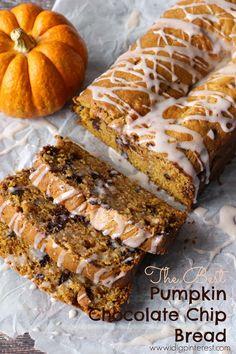 I Dig Pinterest: The Best Pumpkin Chocolate Chip Bread