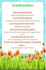 Printemps - fun comptines for Spring. French Teaching Resources, Teaching French, Spring Activities, Activities For Kids, Music Activities, Spring Poem, French Poems, French Nursery, Montessori