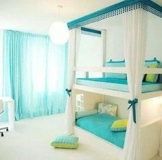 Kid's bedroom: bed/ sofa bunk.